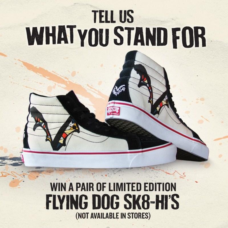 "Vans Sk8-Hi ""Year of the Flying Dog"""