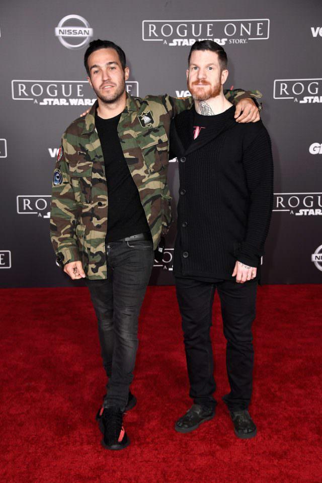 Real rockers rock Saint Laurent and Yeezys