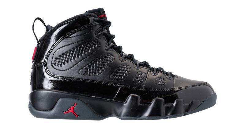 Air Jordan 9 Black/Red Release Date