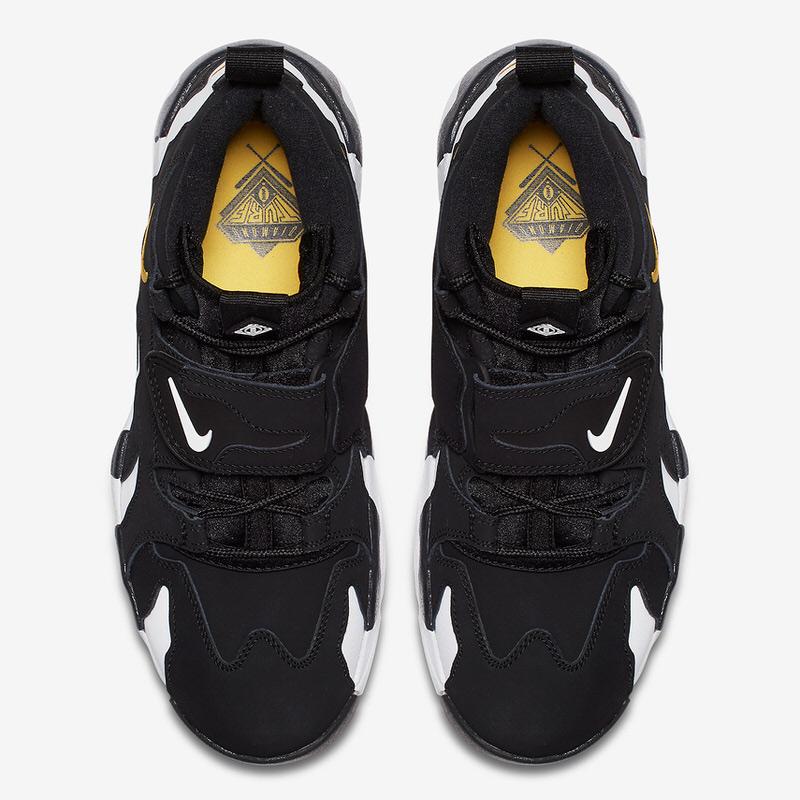 Nike Air DT Max '96 Black/Varsity Maize