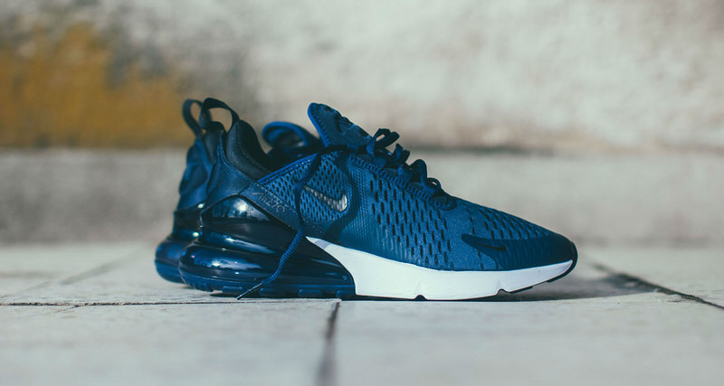 nike air max 270 midnight navy available now nice kicks. Black Bedroom Furniture Sets. Home Design Ideas
