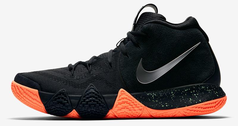 Nike Kyrie 4 Black/Orange Release Date