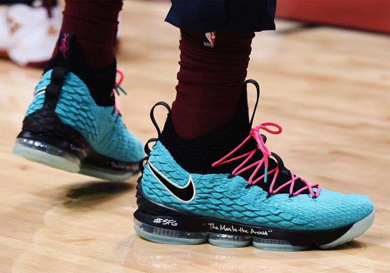 "Nike LeBron 15 ""South Beach"""