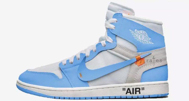 OFF WHITE x Air Jordan 1 \