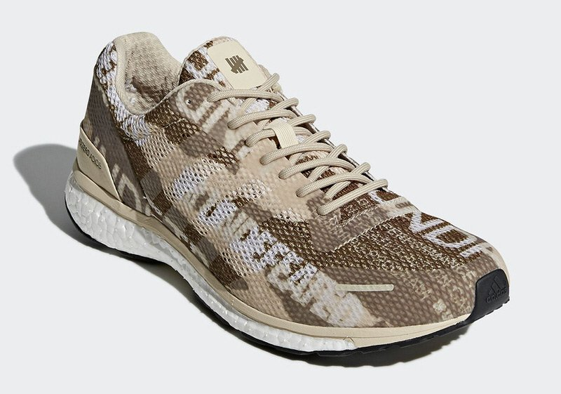 Undefeated x adidas adizero adios 3 Desert Camo