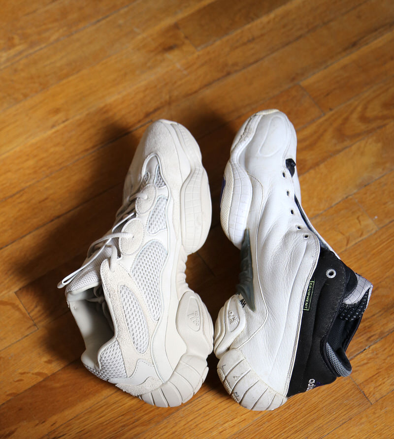 Clínica Alinear Engañoso  Comparing The Adidas KB8 3's Influence On Kanye's Yeezy 500 | Nice Kicks
