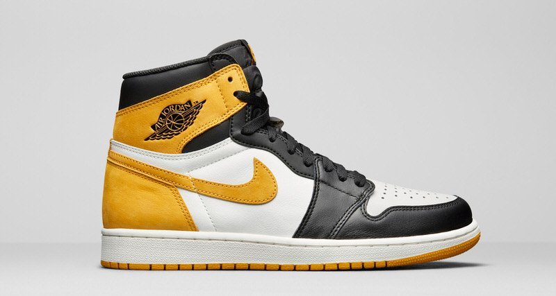 "Air Jordan 1 ""Yellow Orche"" Release Date 