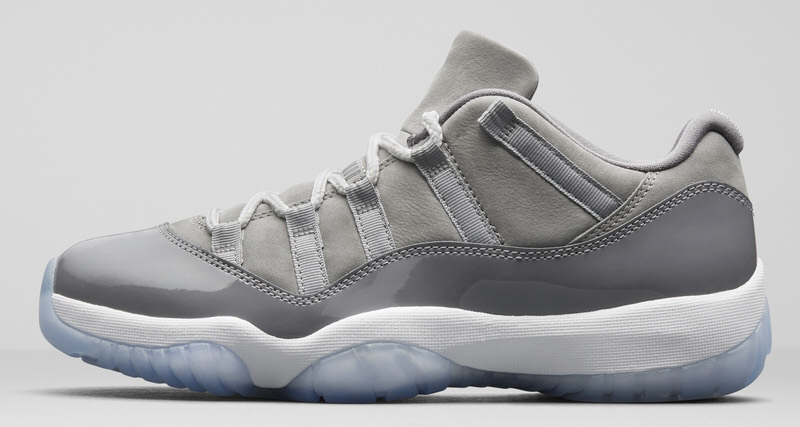 Air Jordan 11 Low Cool Grey Release Date | Nice Kicks Jordan 11 Low Cool Grey 2014