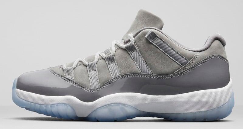 """Air Jordan 11 Low """"Cool Grey"""""""