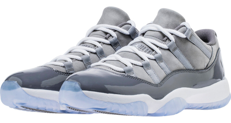 "Air Jordan 11 Low ""Cool Grey"" Release Date 