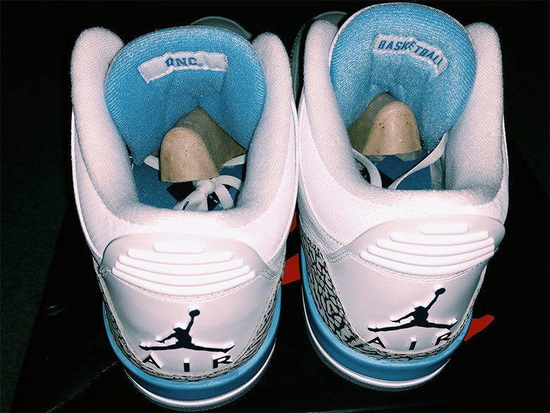 """Air Jordan 3 """"UNC"""" PE"""
