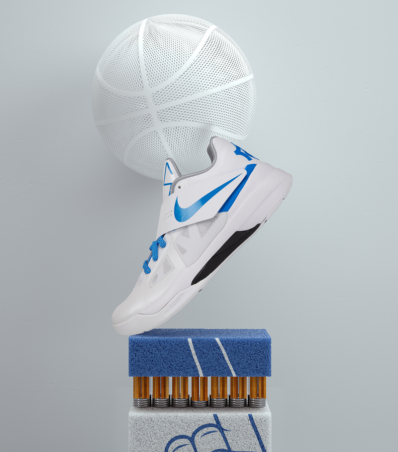 "Kevin Durant's Nike Zoom KD IV ""Battle Tested"""