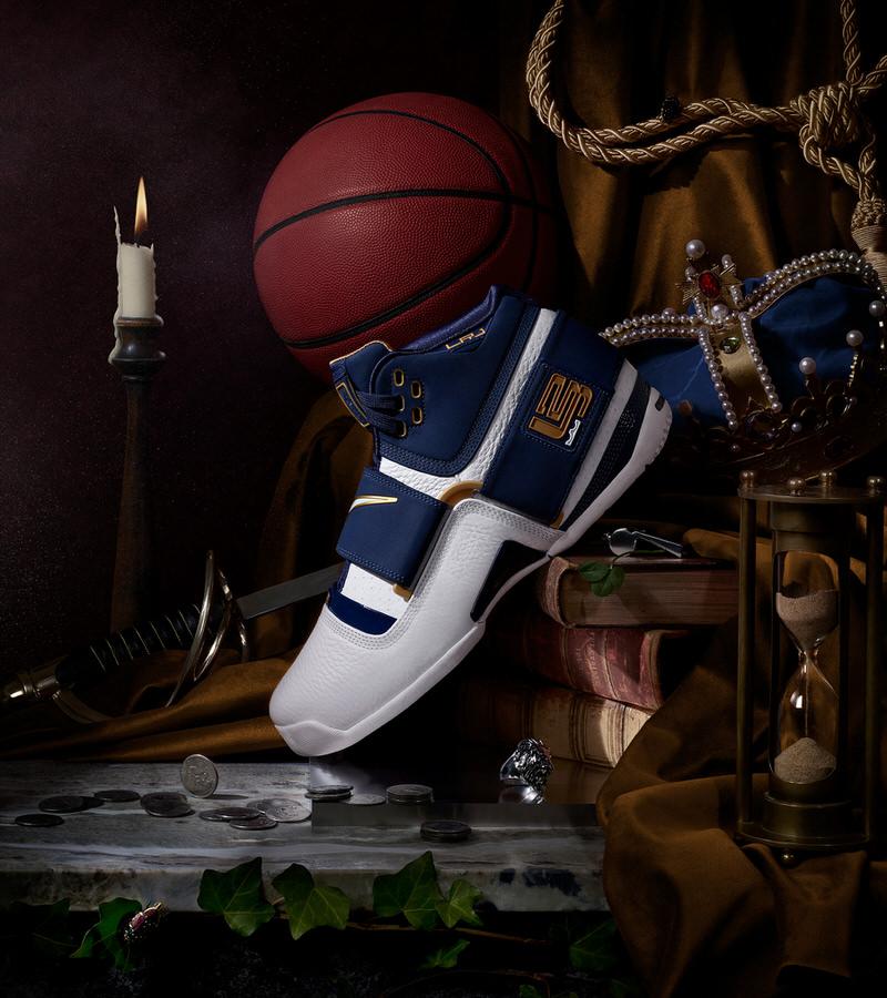 "LeBron James' Nike Zoom LeBron Soldier 1 ""25 Straight"""