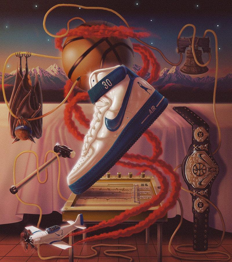 "Rasheed Wallace's Nike Air Force 1 High Retro ""Rude Awakening"""