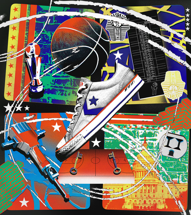 """Wes Unseld's Converse Star Player Ox """"Intangibles"""""""