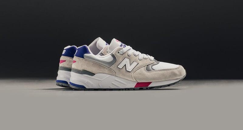 New Balance 999 White/Blue