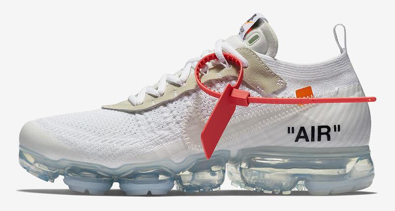 """OFF WHITE x Nike Air VaporMax """"White"""""""