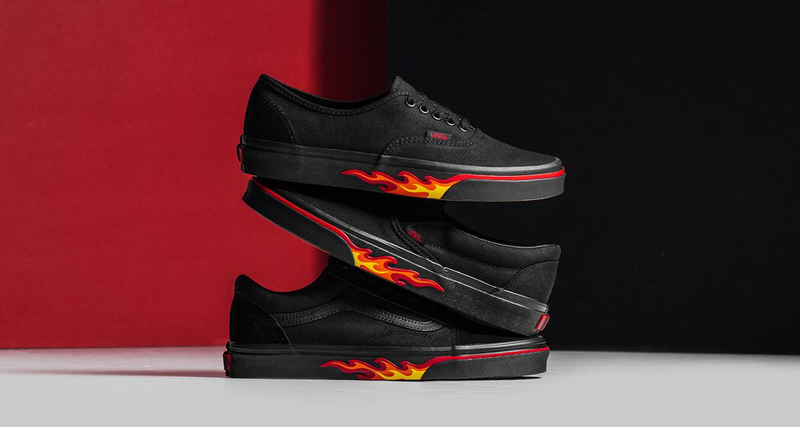 """Vans """"Flame Wall"""" Collection"""