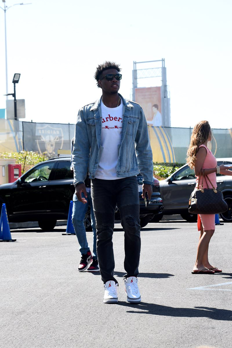Buddy Hield in the Air Jordan 3 Retro