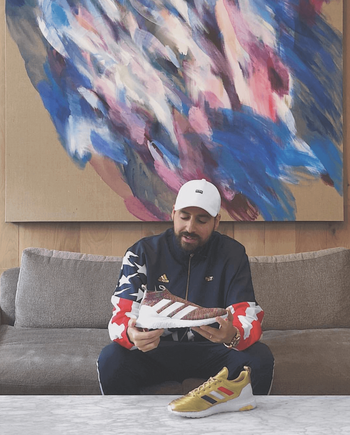 Ronnie Fieg with the Upcoming adidas Collaboration