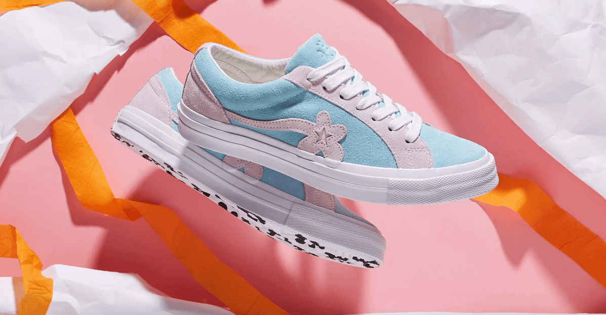 Golf Le Fleur X Converse One Star Two Tones Collection Nice Kicks