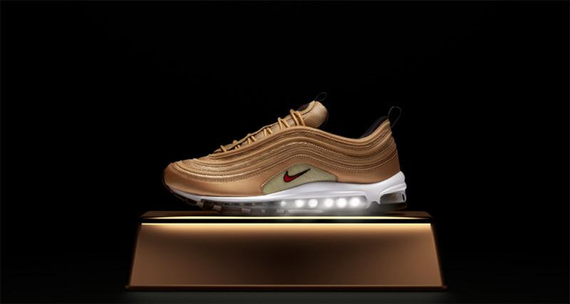 "Nike Air Max 97 ""Metallic Gold"""