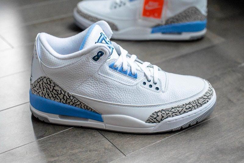"""Air Jordan 3 """"UNC"""" F&F"""
