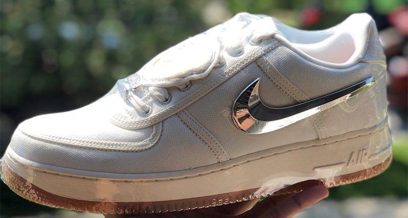 """Travis Scott x Nike Air Force 1 Low """"Sail"""""""