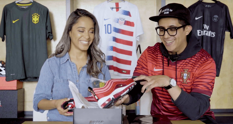 "Unboxing Cristiano Ronaldo's Nike Air Max 97 CR7 ""Portugal"