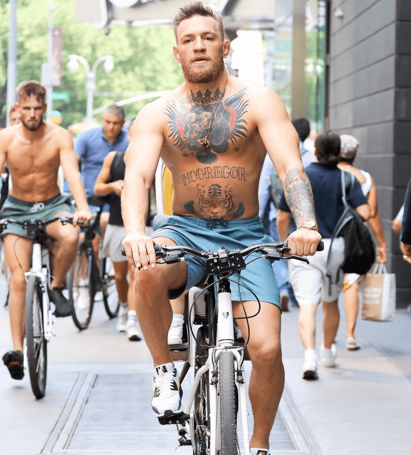 Conor McGregor in the Nike Air Max 90