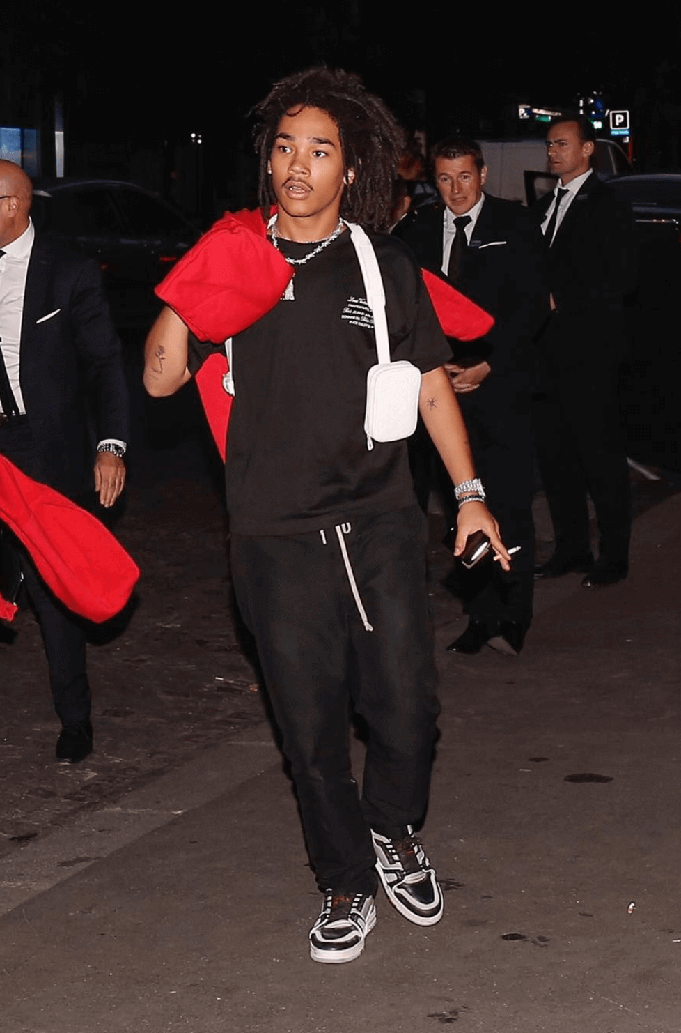 Luka Sabbat in the Louis Vuitton Sneakers