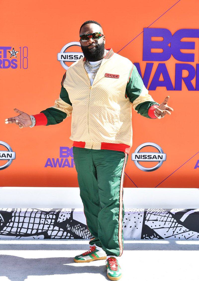 Rick Ross in the Gucci Sneakers