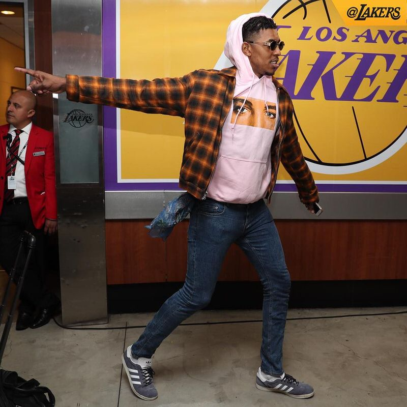 Nick Young sees fashion through a different lens.