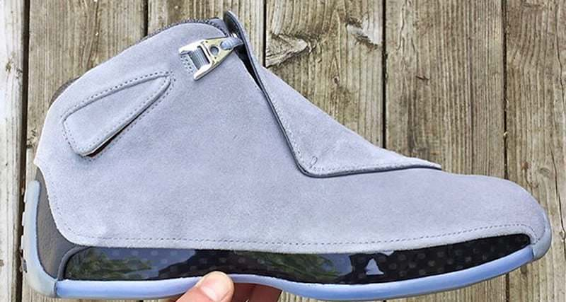 """Air Jordan 18 """"Cool Grey"""""""