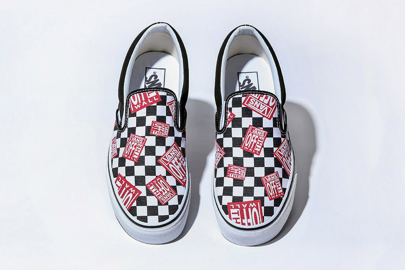 "BILLY'S Vans Classic Slip-On ""Off The Wall Check"""
