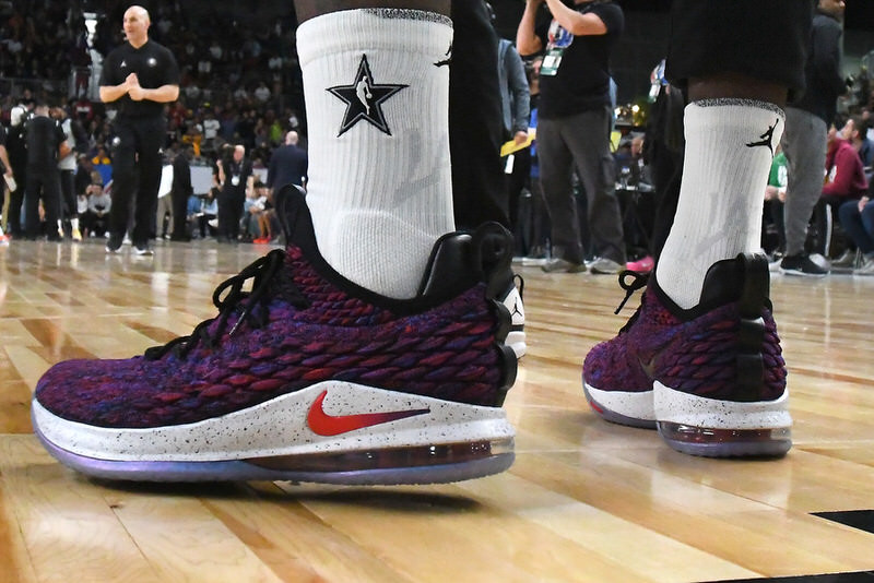 Every Sneaker Worn by LeBron James This