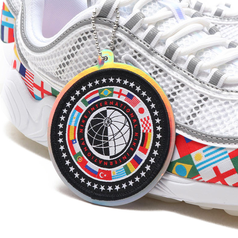 "8f76deca5dbd4 Nike Zoom Spiridon NIC ""International Flag"""