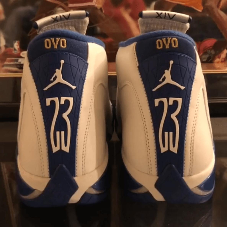 OVO x Air Jordan 14 Kentucky PE