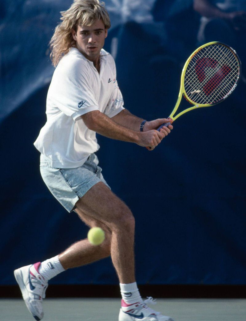 Agassi was and still is the answer for how to make tennis cool.