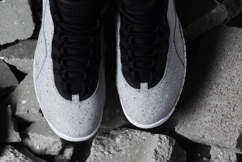 "Air Jordan 10 ""Light Smoke"""