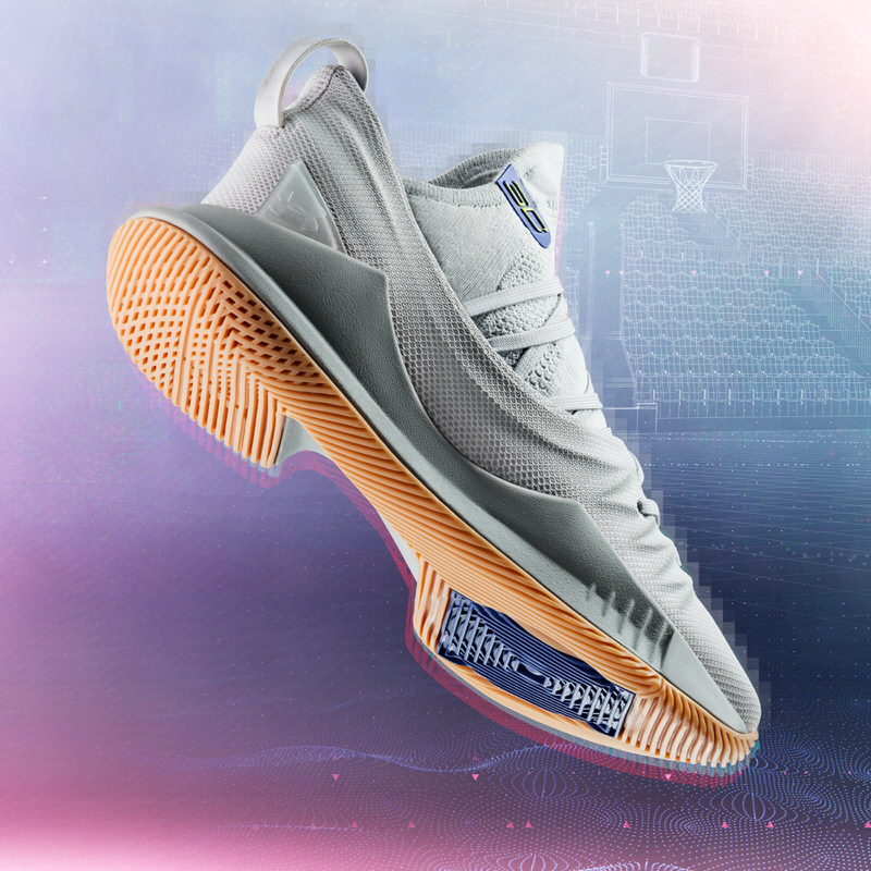 Under Armour Curry 5 Grey/Gum