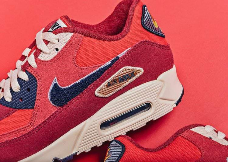 Nike Air Max 90 Premium SE Varsity Pack Available Now