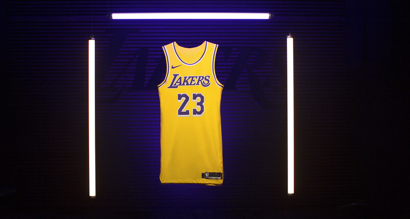 LeBron James Lakers Icon Swingman Jersey
