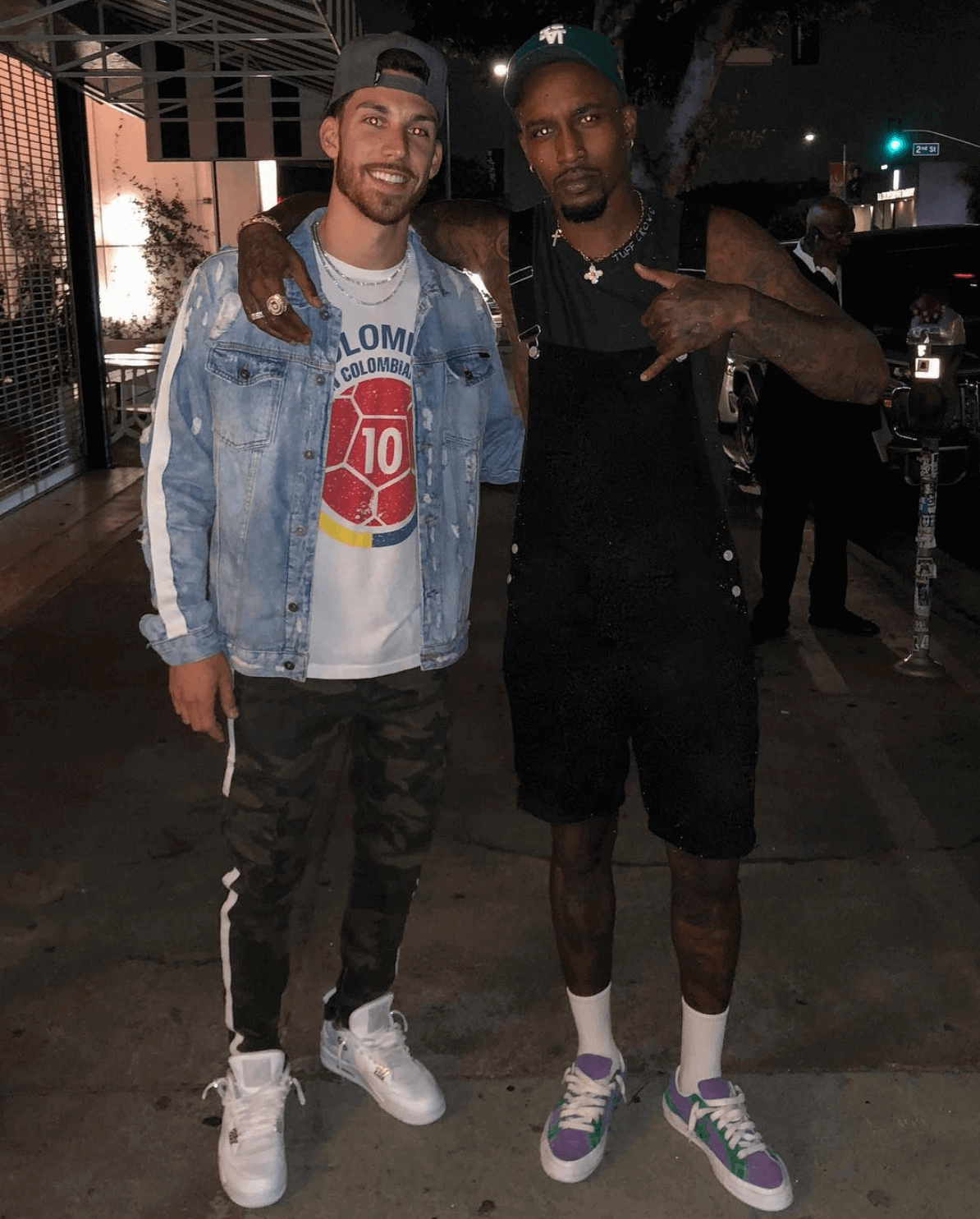 "Brandon Jennings in the Converse One Star Ox ""Golf Le Fleur"""