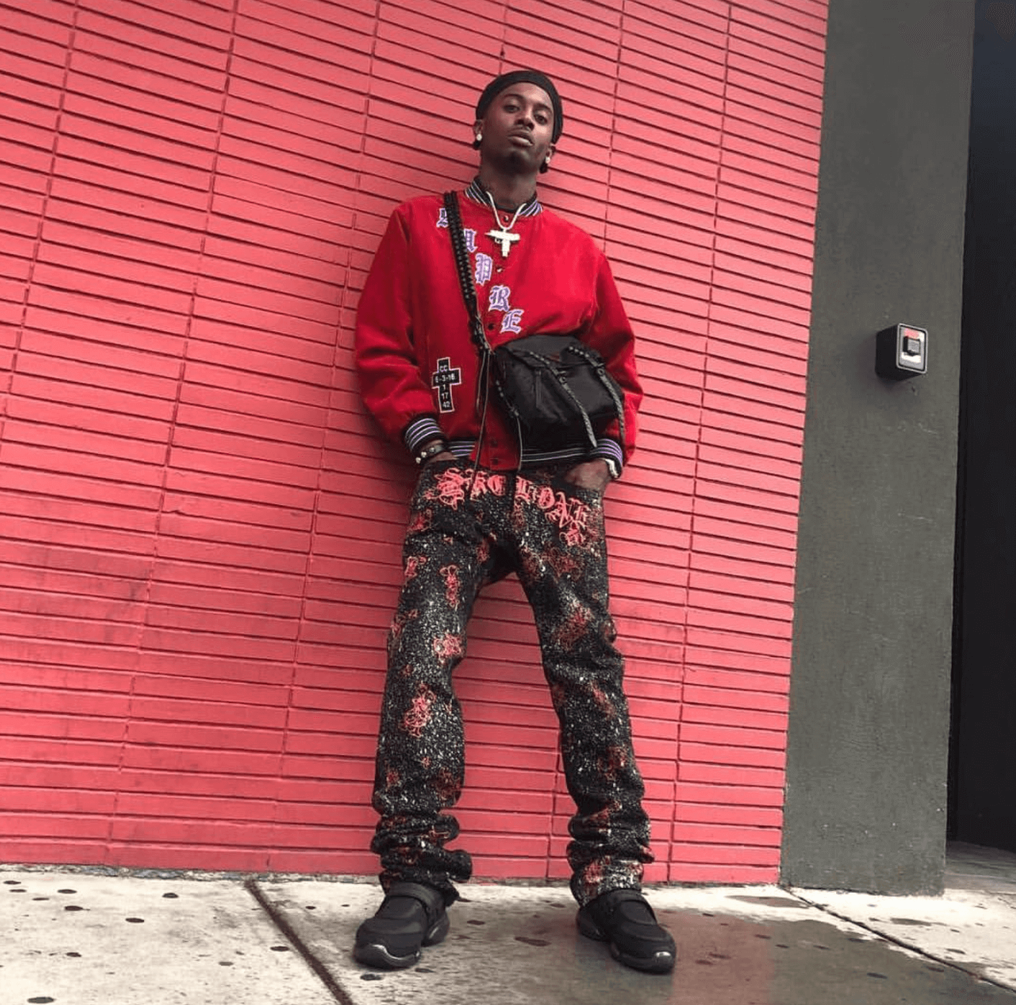 Playboi Carti in the Prada Sneakers