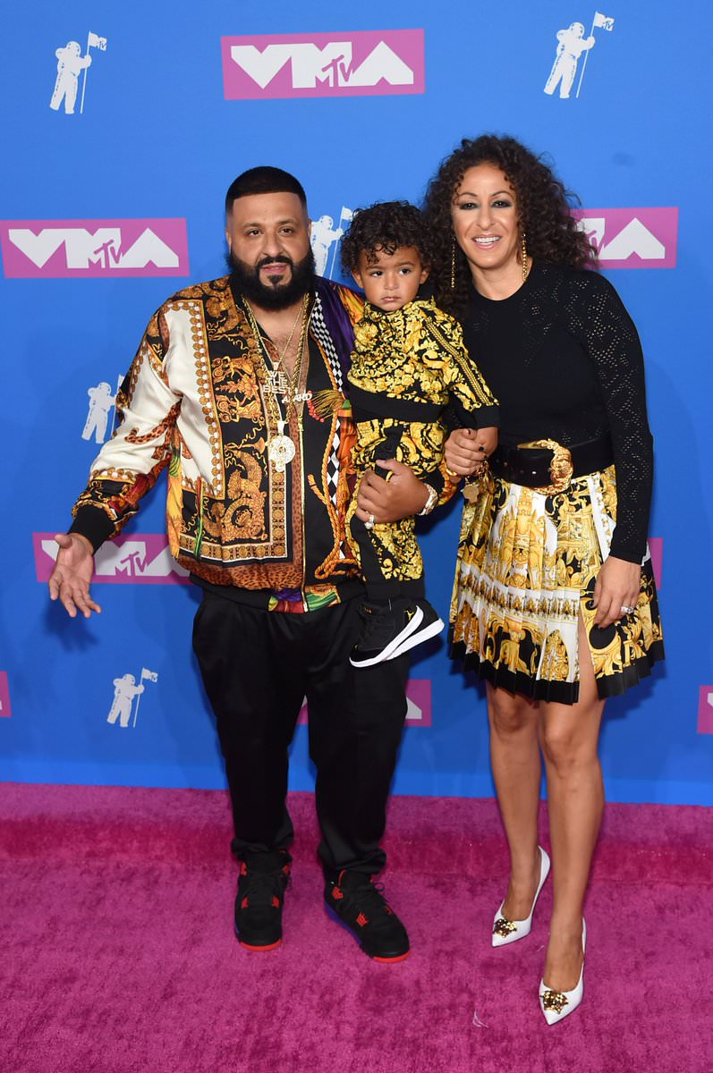 "DJ Khaled in the Air Jordan 4 Retro ""Raptor"""