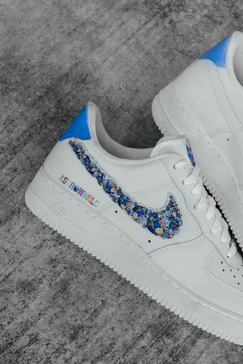 ASTROWORLD Inspiration Appears on Customized Classics | Nice
