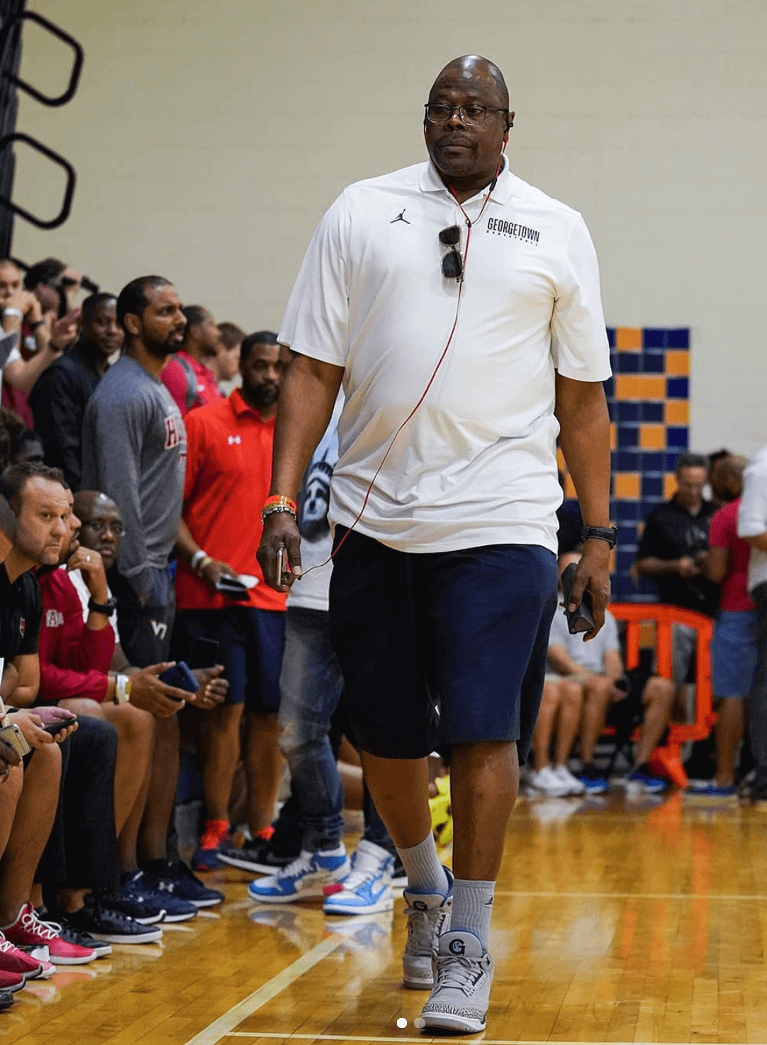 "Patrick Ewing in the Air Jordan 3 ""Georgetown"" PE"