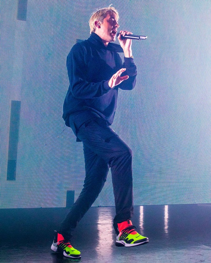 G Eazy in the Acronym x Nike Air Presto Mid
