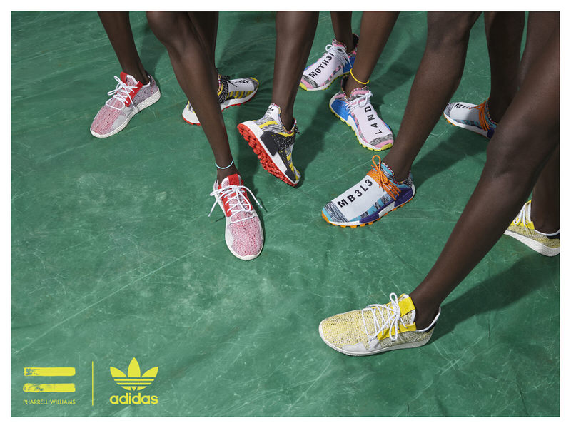 "Pharrell x adidas ""Solar Hu"" Pack"